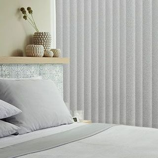 Vertical blind_Gleam Silver_Roomset