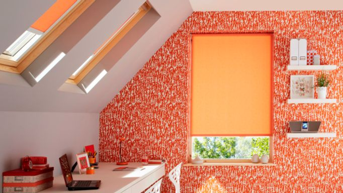 Sherbourne-Orange-Roller-blinds