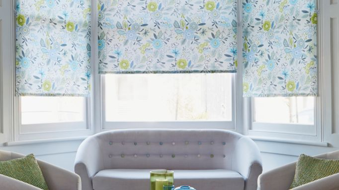 Betsy-Blue-Roller-blind-in-bay-window