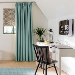 Curtain Tetbury Duck Egg Roomset