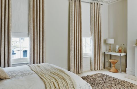 How To Match Your Curtains And Blinds Hillarys Awesome Roman Blinds Bedroom Collection
