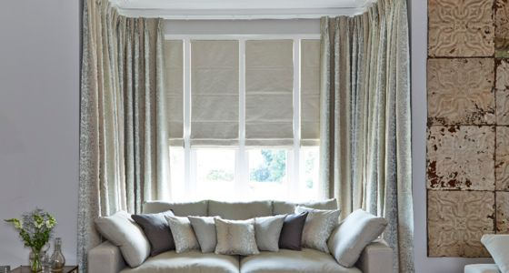 House Beautiful Roman Blinds And Curtains