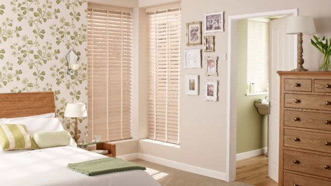 Limed-White-Wooden-blinds-bedroom
