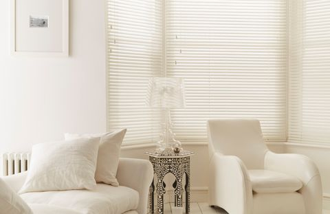 Pure-White-Wooden-blind-bay-window