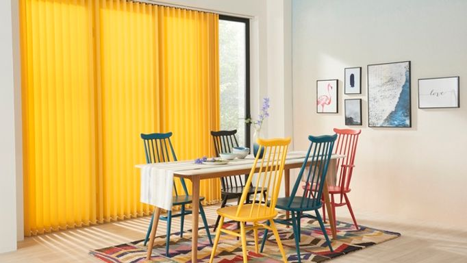 acacia-Yellow-Vertical-blind-dining-room