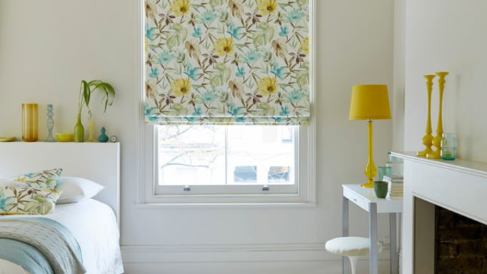 House-Beautiful-Origins-Citrine-Roman-blind