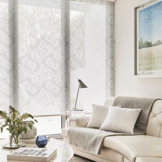 House Beautiful Clarity White Roller blind