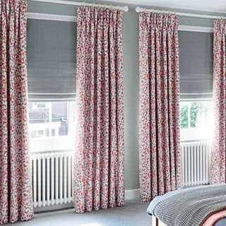 Curtain Blossom Persimmon Roomset