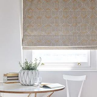 Roman blind Verve Golden Wheat Roomset