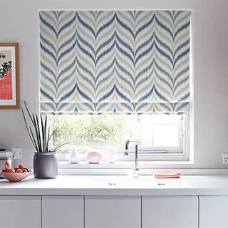 Roman Blind Souk Denim