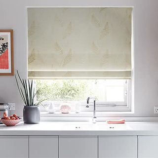 Roman Blind Tranquillity Lily White