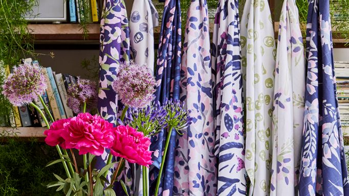 Charlotte Beevor patterned fabric range
