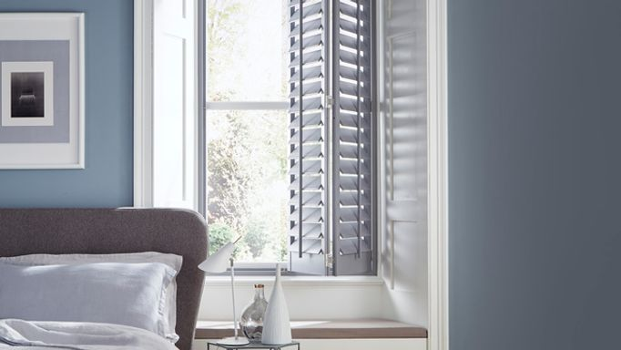 House Beautiful Storm Grey Shutters