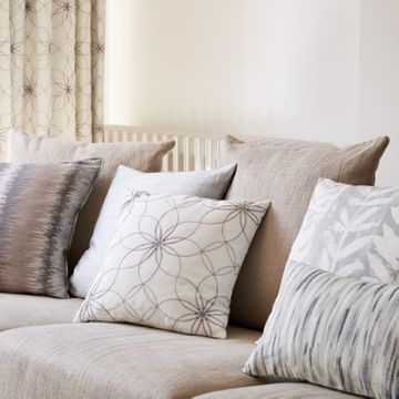 Grey cushion collection