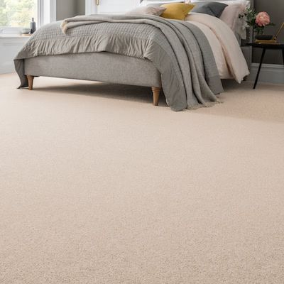 Cream-carpet-Bedroom-Parkland-Twist-Berber-Beige