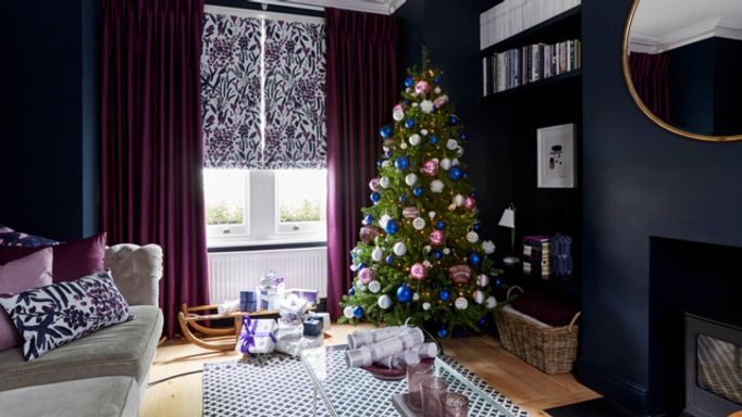 roman blinds and curtains christmas charlotte beevor