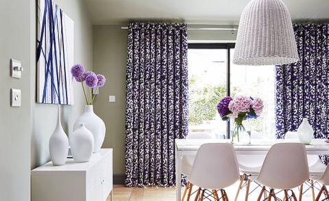 Blue-Curtains-Dining-Room-Grapeflower-Berry-2