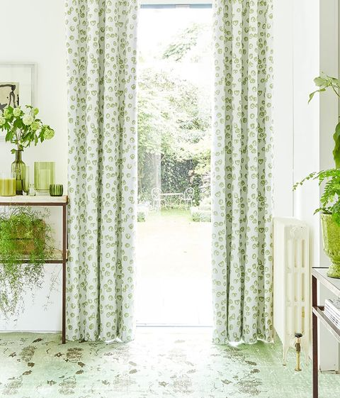 Green-Curtains-Living-Room-Confetti-Zest