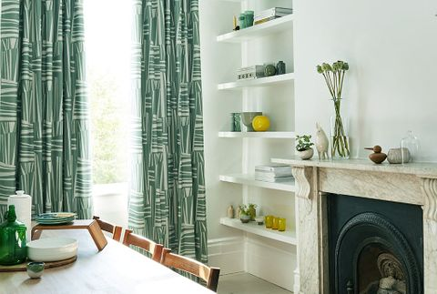 Green-Curtains-Living-Room-Geometro-Celadon