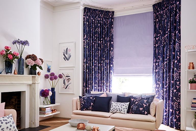 Blue-Curtains-Living-Room-Sorano-Indigo