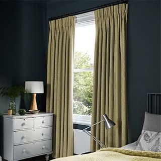 Nexus Brushed Gold Curtains