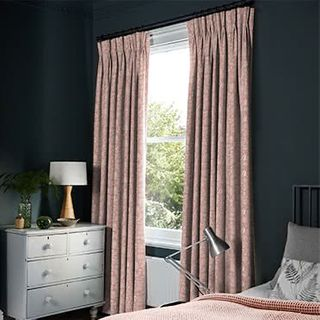 Oralia Coral Haze Curtains
