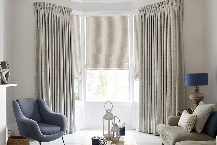 Grey Curtains Living Room Modello_Pastel_Roman_Downtown_Blue