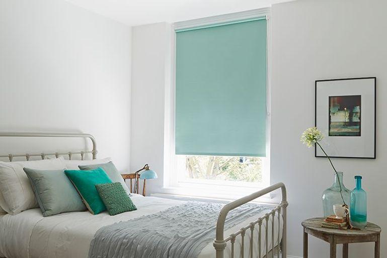 blue blinds 50 off sale now on navy to light blue. Black Bedroom Furniture Sets. Home Design Ideas