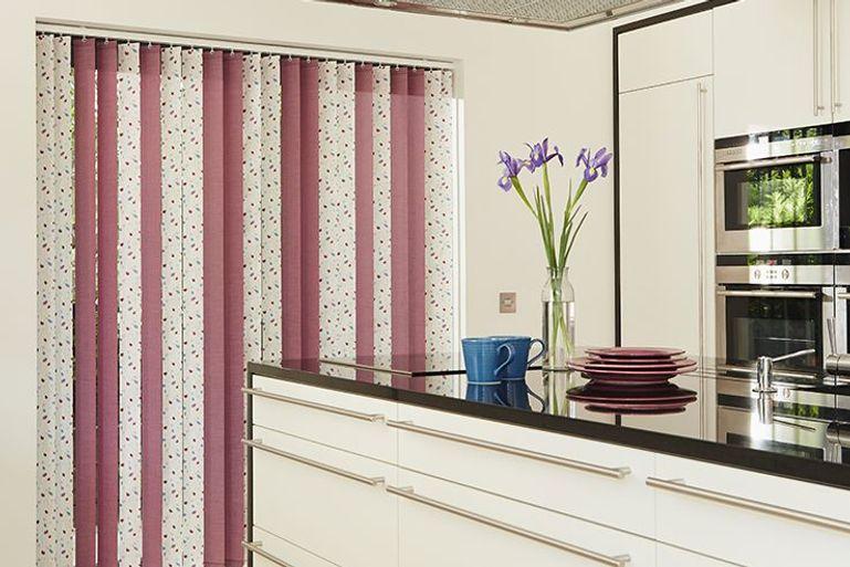 pink vertical blinds uk 50 sale now on pink vertical. Black Bedroom Furniture Sets. Home Design Ideas