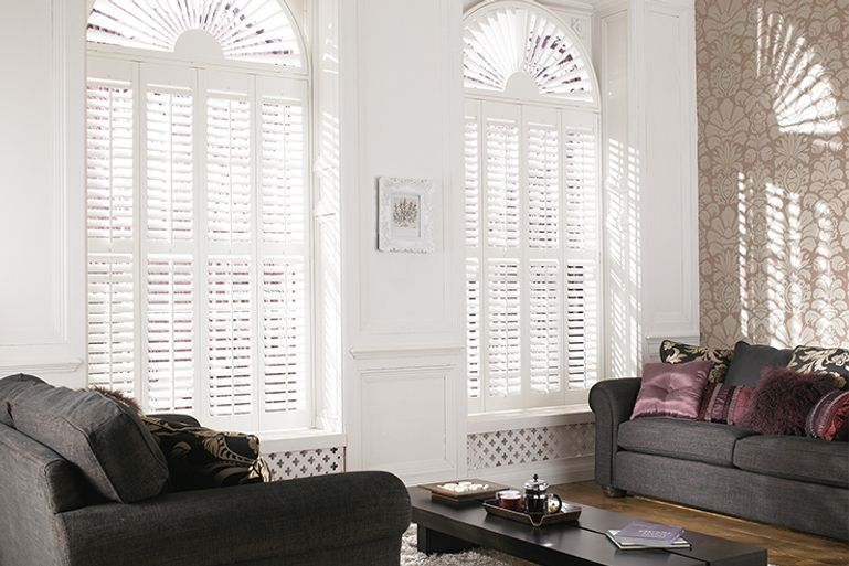 Shaped Window Shutters | Porthole, Circular and Round Window ...