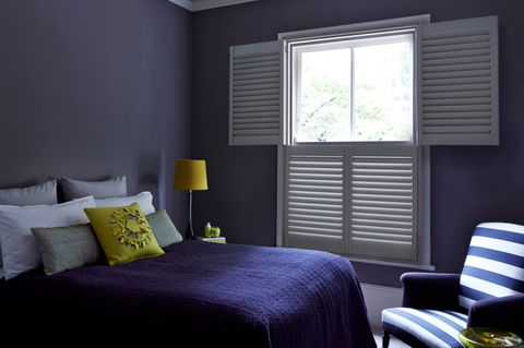 Tier-on-tier shutters in Clay from the Richmond range