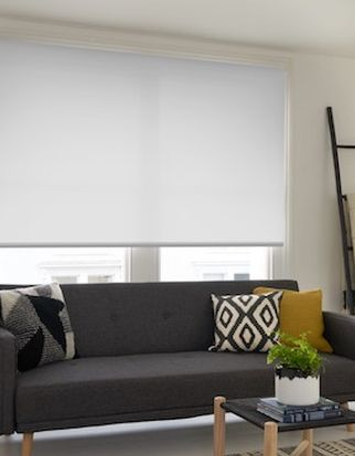 Acacia ice roller blind