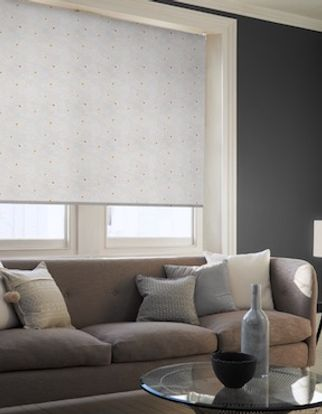 Cecille clementine roller blind