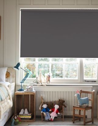 Colorado charcoal roller blind