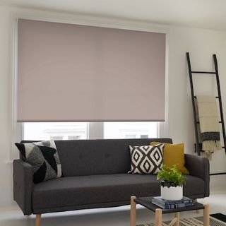 Cordova taupe roller blind