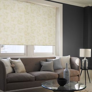 Hothouse green roller blind
