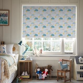 Rainbow dreams mineral roller blind