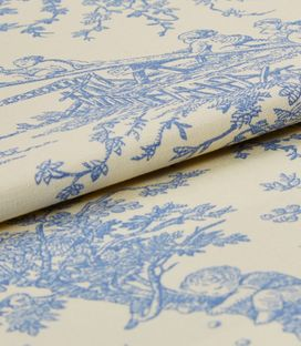 Toile French Blue