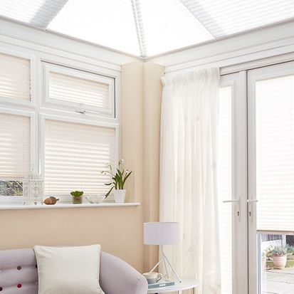 Roomshot of conservatory blind