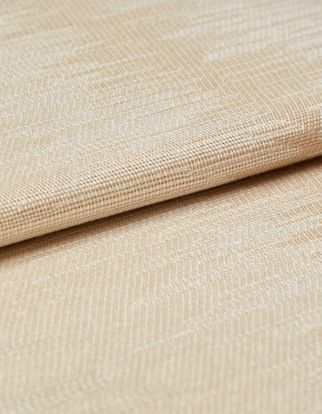 Anouk Straw Roman Blind and Curtain