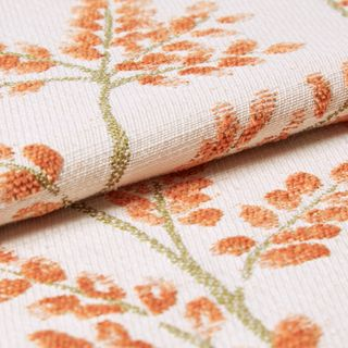 Delizia Nectarine Roman Blind and Curtain