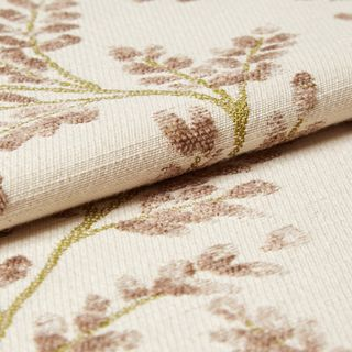 Delizia Taupe Roman Blind and Curtain