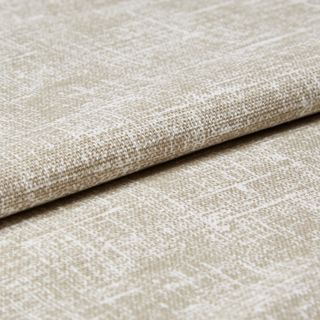 Emilie Taupe Roman Blind and Curtain