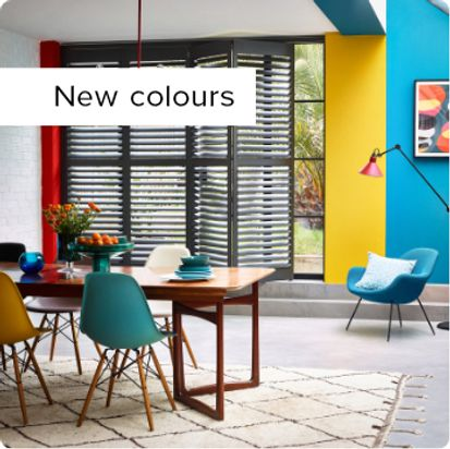 View our Shutters range now with New Colours