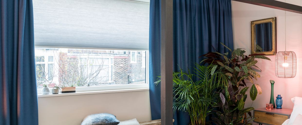 Thermashade Pleated blinds Mist