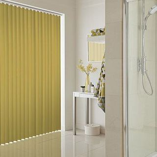 Vertical Blind_Acacia Chartreuse_Roomset