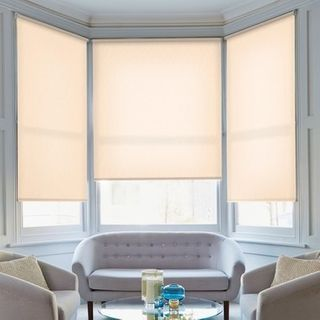 Roller Blind_Florence Peach_Roomset