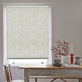 Roller Blind_Hothouse Green_Roomset