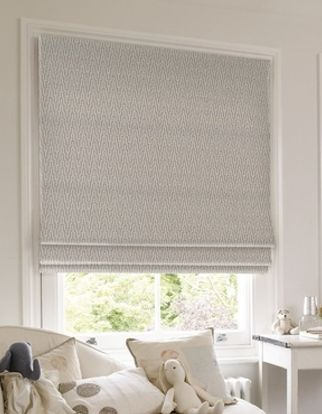 Roman Blind_Abacus Sky Blue_Roomset