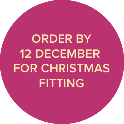 order by 12th December for christmas fitting